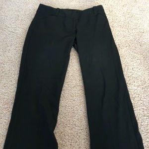 The Limited - Drew Fit Black Pants!
